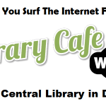 The café at the Library in Denton