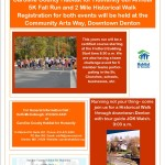 6th Annual 5k Race & Historical Walk