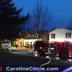 Public Defender's Office Catches Fire, Franklin St. Denton, MD. (March 25th 2015)