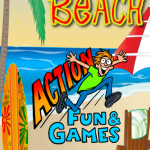 Flip Flop Beach, a great game to test your coordination for all ages.