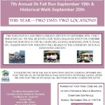Caroline County Habitat for Humanity Annual Habitat 5K Fall Run and Historical Walk. Saturday, September 19th
