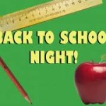 NORTH CAROLINE HIGH SCHOOL'S BACK TO SCHOOL NIGHT – FOR ALL PARENTS/STUDENTS OF NCHS