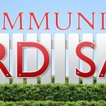"Community Yard Sale with Drum Circle starting at 12:00 P.M. with Tommy ""Buckets"" Pisciotta  performing."