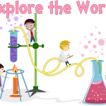 Mix it up: Colors! STEM Storytime at the library