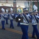 North Caroline High School Band – Homecoming Parade 2015