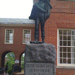 Confederate Talbot Boys statue to remain on Easton courthouse lawn