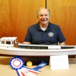 Chesapeake Bay Maritime Museum model guild's Ray Maule recognized for Martha model