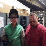 Chesapeake Bay Maritime Museum and Chesapeake College collaborate on welding project.