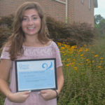 Compass Regional Hospice names volunteer of the month Julia D'Ambrosio of Centreville