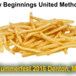 New Beginnings Church in Ridgely, MD  makes first appearance at Summerfest 2016.