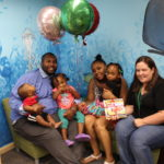 Child Imagination Library of Caroline County recently celebrated the registration of the 1,000th child to the program at the Federalsburg Branch.