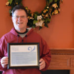 Riehl Named Compass Regional Hospice Volunteer of the Month