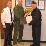 Officer Recognition Easton Maryland.