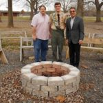 EAGLE SCOUT RENOVATES RINGS OF FIRE