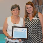 Estate Treasures volunteer recognized by Compass Regional Hospice