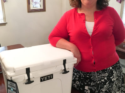 Maureen Keogh Announces Bid for Caroline State's Attorney;  Raffling a YETI Cooler to Give Back to Local Fire Department