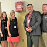 Bleeding Control Kits Installed in Caroline County Public Schools