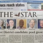 First District candidate pool growing, says the front page of The Star Democrat today.