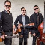 Friday Nites in Caroline season kicks off with gypsy jazz trio Ultrafaux at the library!